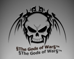 Логотип §The Gods of War§™.