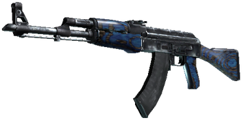 AK-47 | Blue Laminate (Синий глянец)
